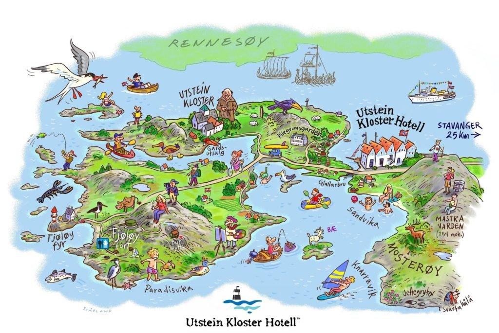 utstein kloster oversikt kart